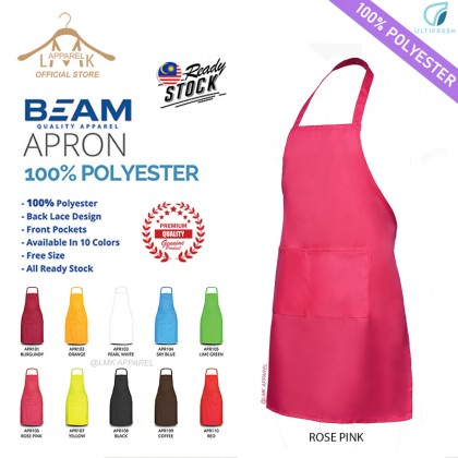 ✅ Ultifresh【Unisex】Hang Neck Full APRON with Pockets - 100% polyster│@LMK APPAREL